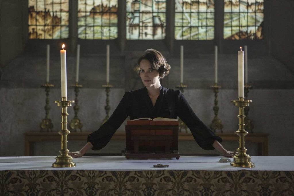"Phoebe Waller-Bridge in der Amazon-Serie ""Fleabag"""