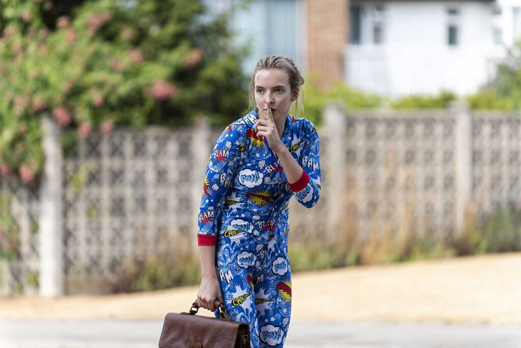 "Jodie Comer in der Serie ""Killing Eve"""