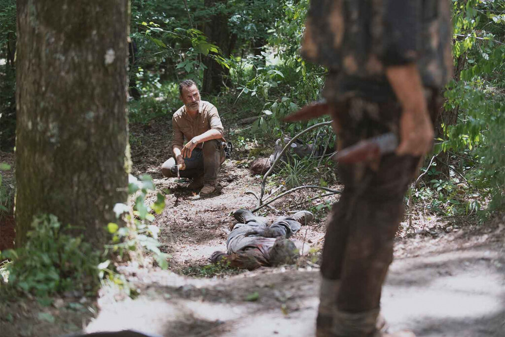 """Andrew Lincoln in der Zombieserie """"The Walking Dead"""""""