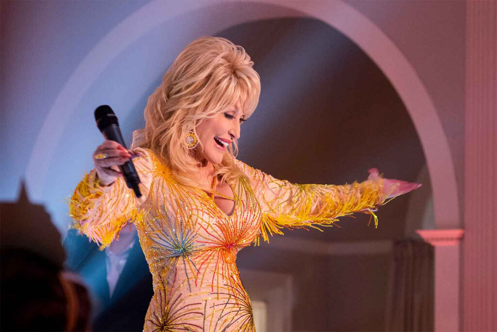 "Dolly Parton in ihrer eigenen Serie ""Dolly Parton's Heartstrings"""