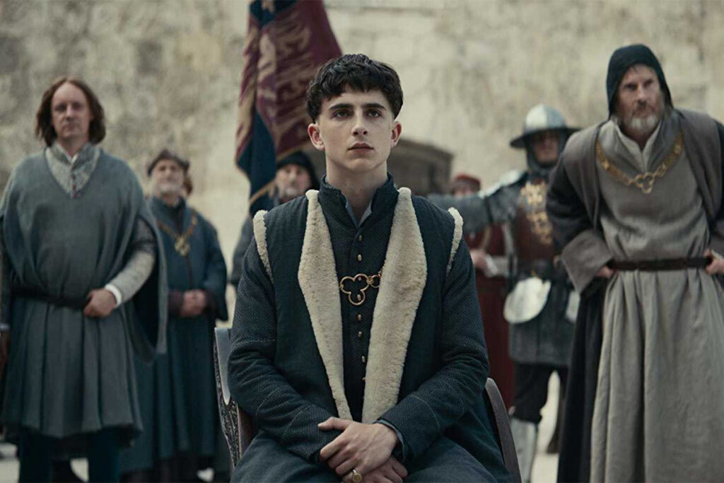 "Timothée Chalamet im Netflix-Film ""The King"""