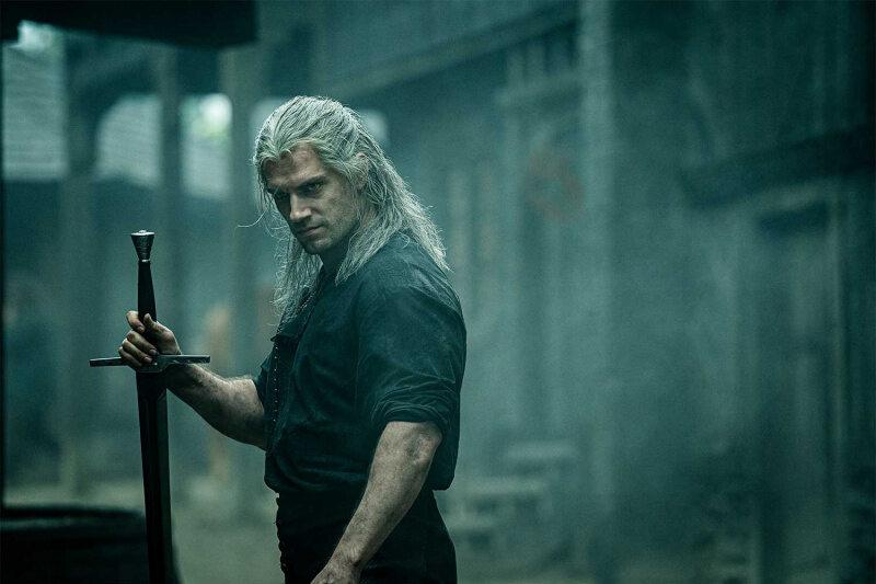 "Henry Cavill in der Netflix-Serie ""The Witcher"""