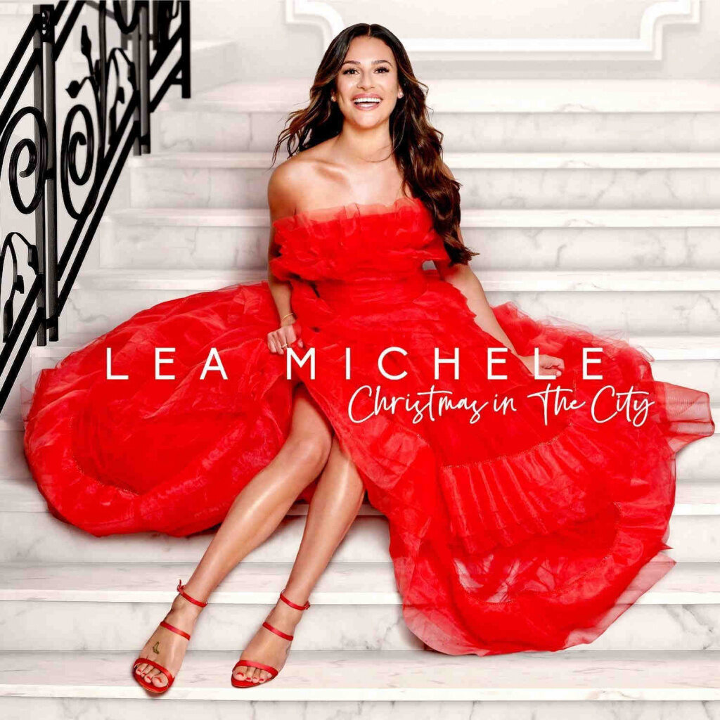 "Lea Michele: ""Christmas In The City""-Cover"