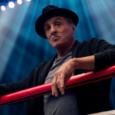 Sylvester Stallone als Rocky Balboa in CREED II